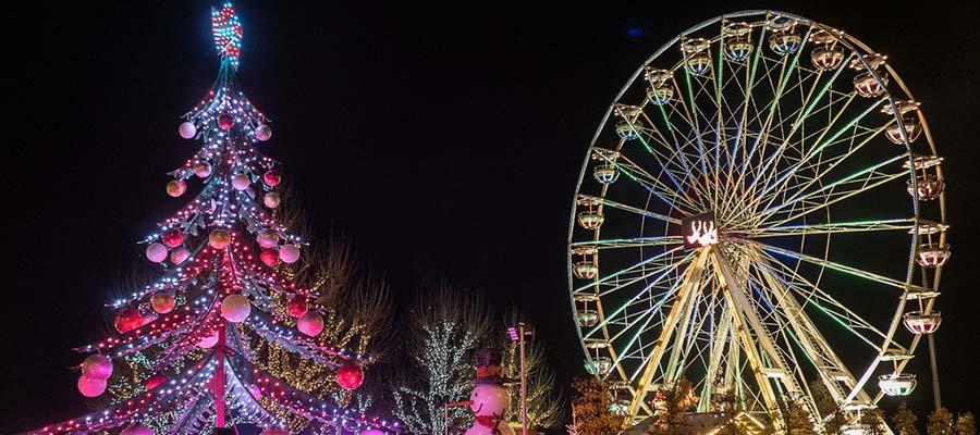 Avrupa'nın En İyi Kış Festivalleri - Winter Lights Lux - Park