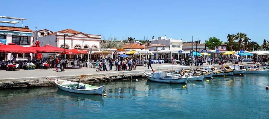 Ege'nin Aşıklar Diyarı Cunda Adası - Liman