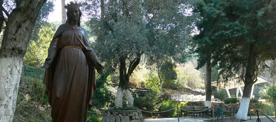 Efes Antik Kenti - Meryem Ana Heykeli