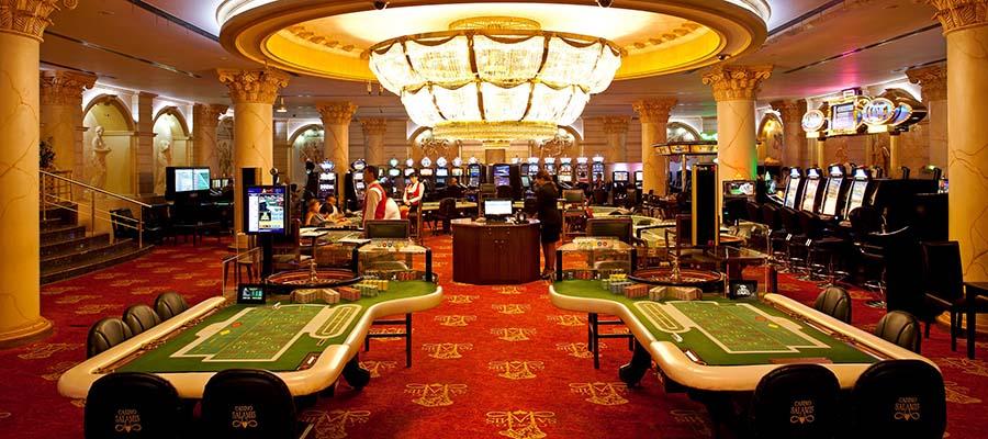 Ekim Ayı Kıbrıs Otelleri - Salamis - Casino