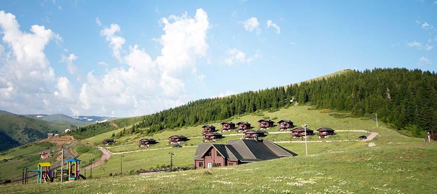 Türkiye'nin En Güzel Dağ Evleri - Karaca Dağ
