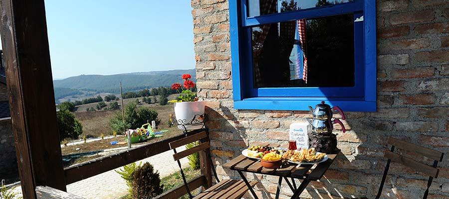 Türkiye'nin En Güzel Dağ Evleri - Taş Konak - Manzara
