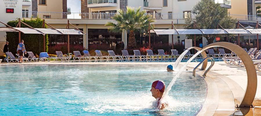 Güre Kaplıcaları - Otel Havuz