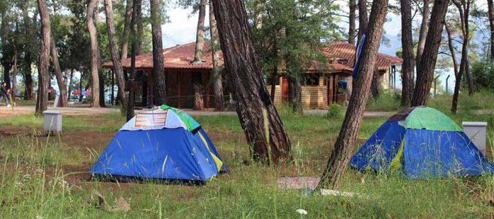 Türkiye'nin En İyi Kamp Yerleri - Akyaka Orman Kampı