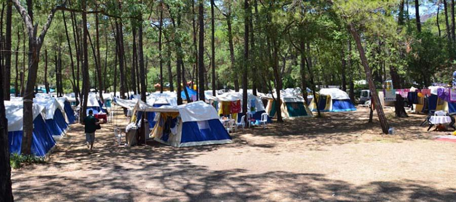 Türkiye'nin En İyi Kamp Yerleri - Çubucak Orman Kampı