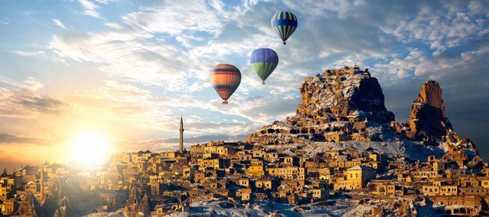 Kapadokya'da Balayı Tatili - Kış