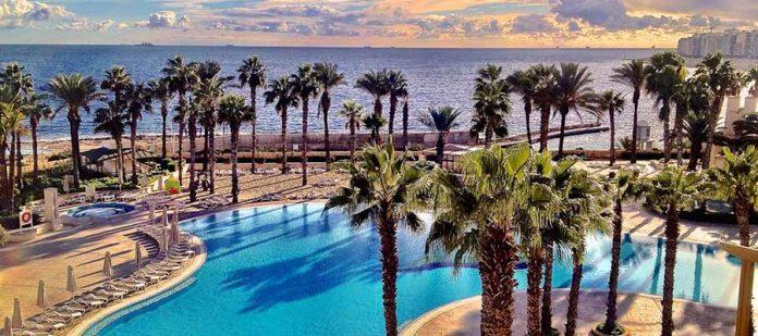 Akdeniz'in Küçük Adası Malta - Palmiyeler
