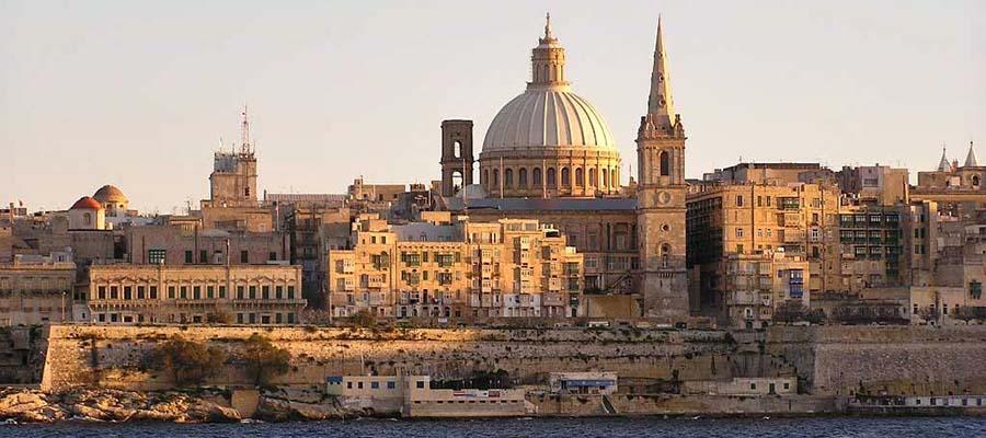 Akdeniz'in Küçük Adası Malta - Valletta