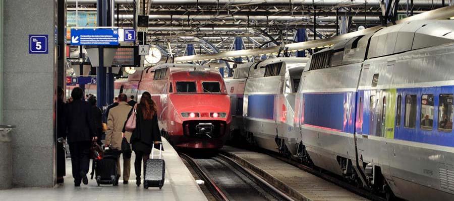 Trenle Avrupa'yı Keşfet - Mavi Tren