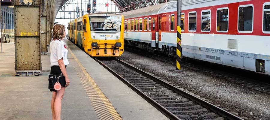 Trenle Avrupa'yı Keşfet - Tren Garı