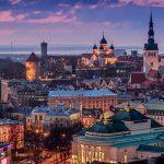 Yılbaşı Tatili İçin 5 Şehir Önerisi - Tallinn - Gece Manzara