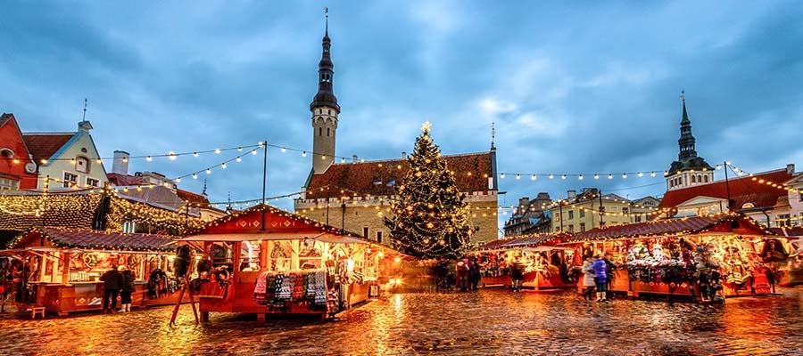 Yılbaşı Tatili İçin 5 Şehir Önerisi - Tallinn - Pazar