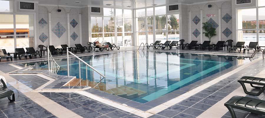 Kuzuluk Kaplıcaları - Termal Oda Havuzu