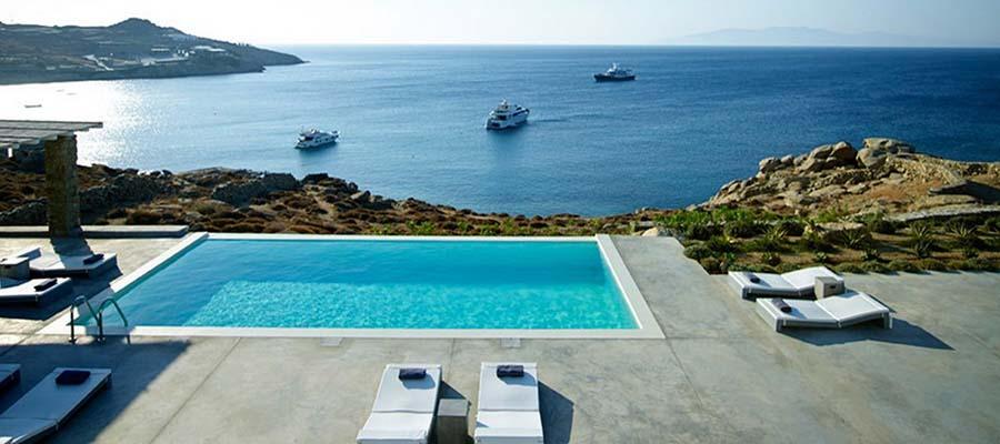 Yunan Adalarında Balayı - Havuz