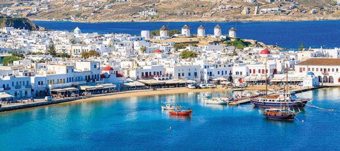 Yunan Adalarında Balayı - Mykonos