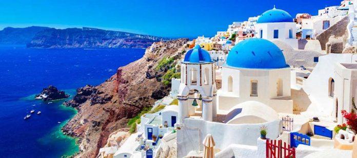 Yunan Adalarında Balayı - Santorini