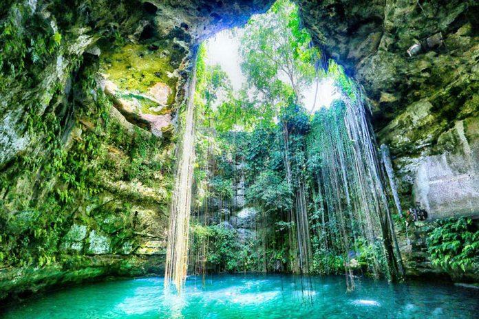 Yüzmek İçin En Çılgın Yerler - Yucatan