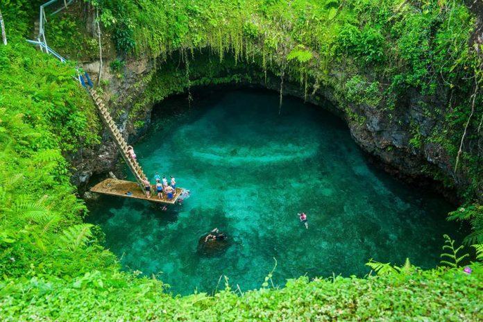 Yüzmek İçin En Çılgın Yerler - Samoa