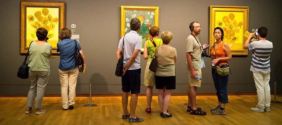 Amsterdam Gezi Rehberi - Van Gogh Müze İçi