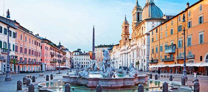 Avrupa'nın Hayranlık Uyandıran Meydanları - Piazza Navona