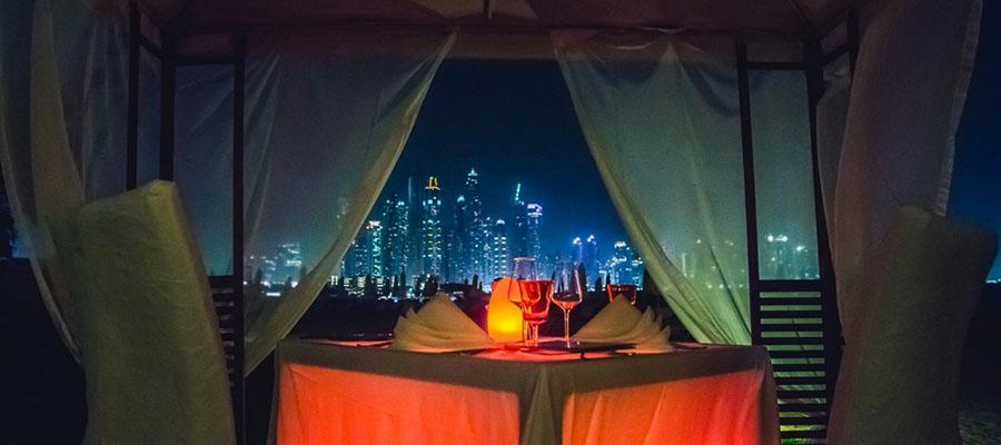 Rüya Gibi Bir Balayı: Dubai - Akşam Yemeği