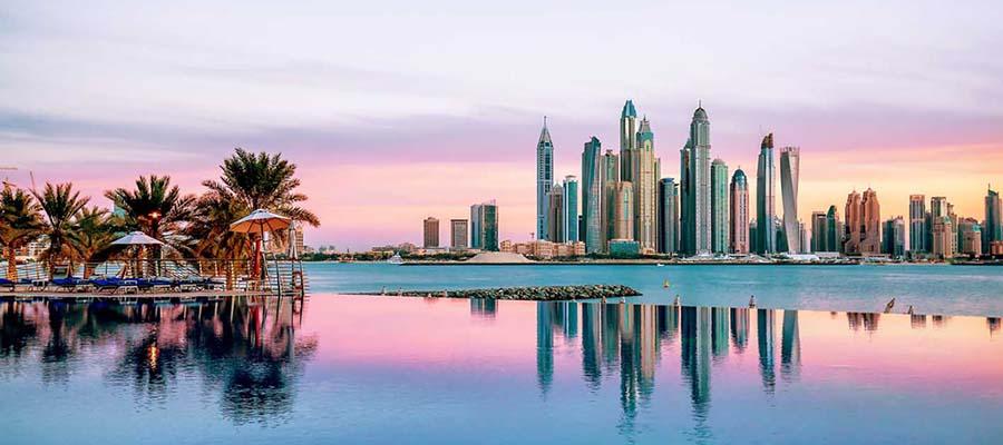 Rüya Gibi Bir Balayı: Dubai - Palmiyeler