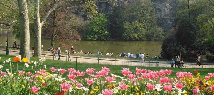 Dünyanın En Güzel Parkları - Parc des Buttes