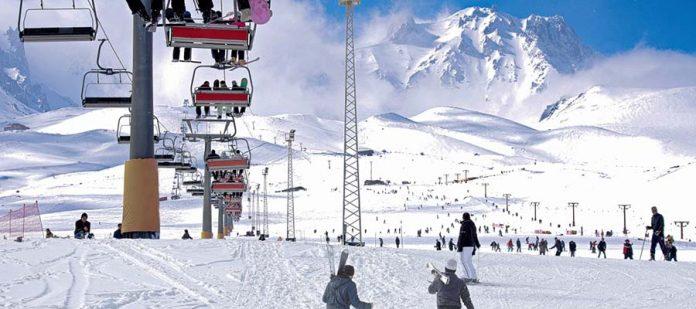 Erciyes Kayak Merkezi - Teleferik