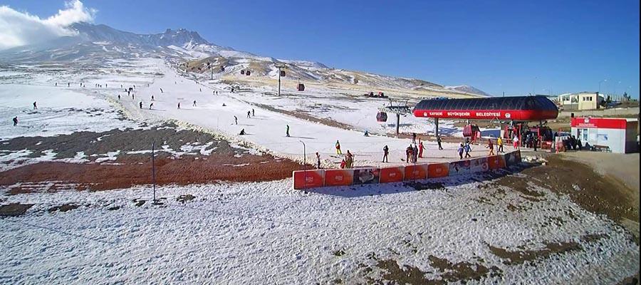 Erciyes Kayak Merkezi - Görsel