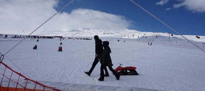 Erciyes Kayak Merkezi - Kızak