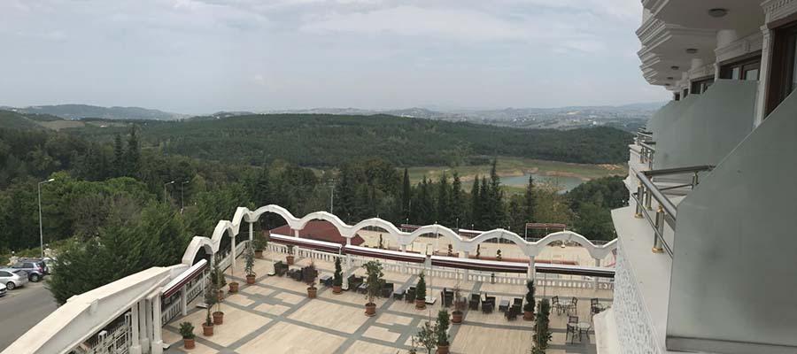 Gezginin Kalemi - Thermalium Hotel - Balkon Manzarası