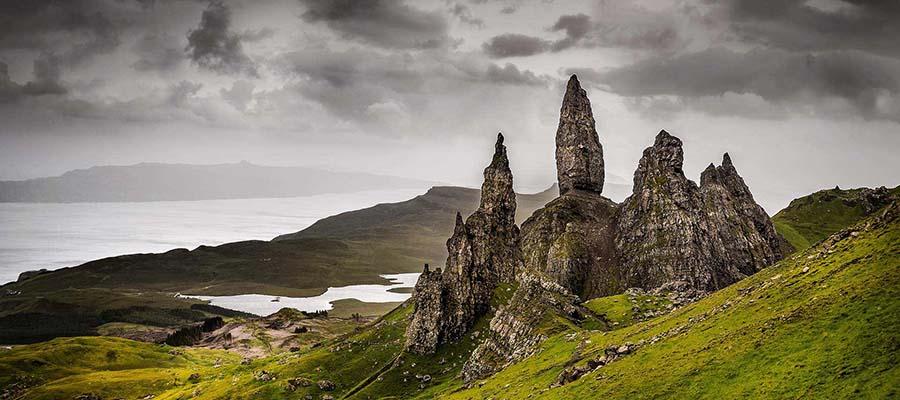 Güvenli Seyahat Edebileceğiniz Yerler - İskoçya - Dağlar