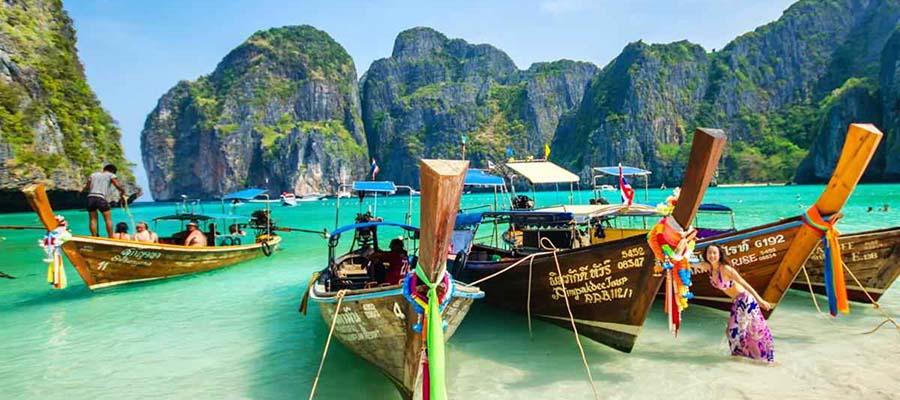 Güvenli Seyahat Edebileceğiniz Yerler - Tayland - Sandal