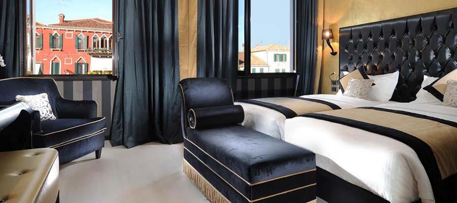 Kanallar Şehri Venedik - Carnival Palace Hotel - Oda
