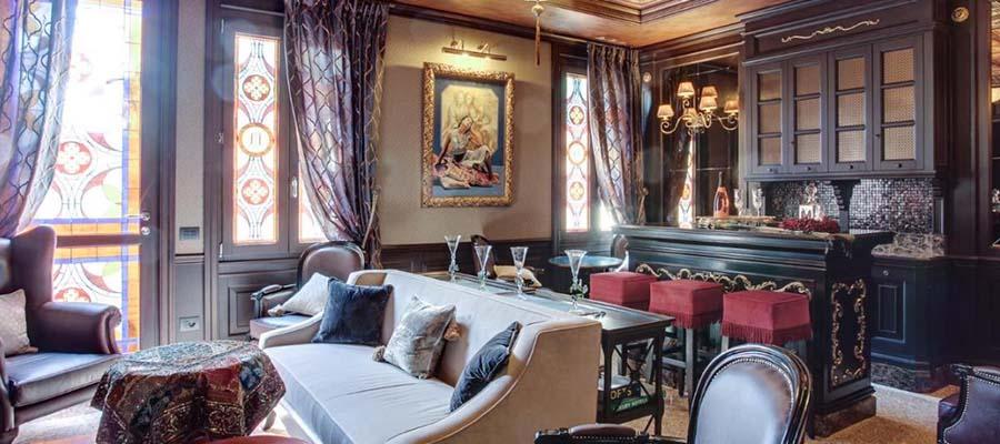 Kanallar Şehri Venedik - Hotel Moresco - Oda