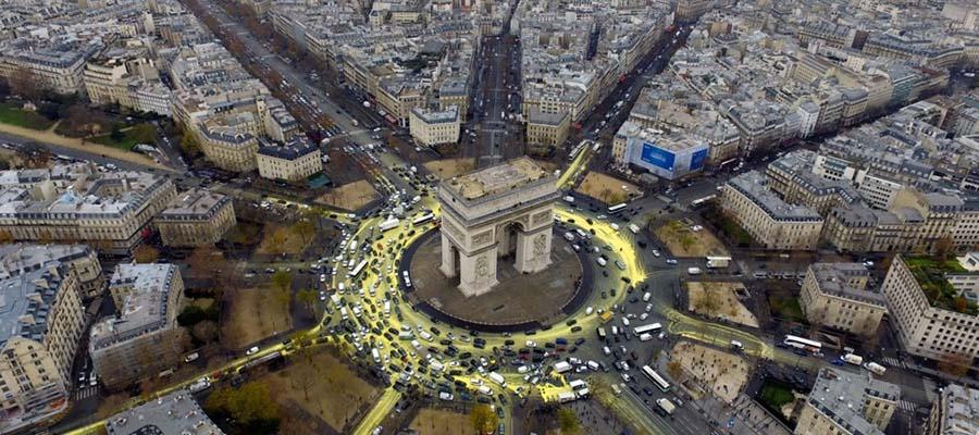 Paris Turu - Manzara