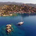 Sular Altında Saklı Bir Kent Simena Antik Kenti - Deniz