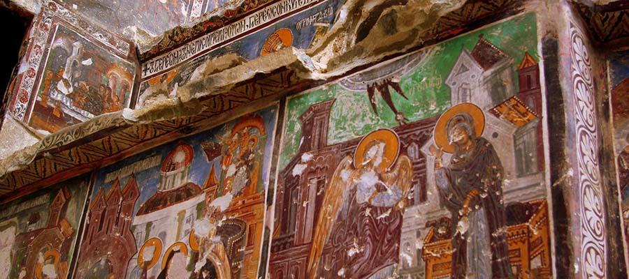 Sümela Manastırı - Çizimler