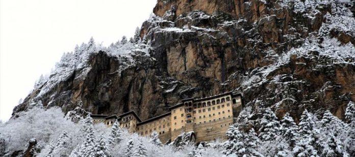 Sümela Manastırı - Kış Mevsimi