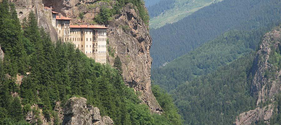 Sümela Manastırı - Orman