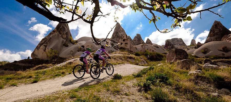 Manzarasına Doyamayacağınız Bisiklet Rotaları - Kapadokya