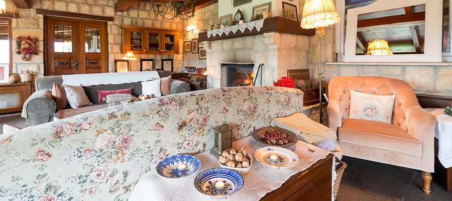 Türkiye'nin Tarihi Otelleri - Casa Lavanda - Oda İçi