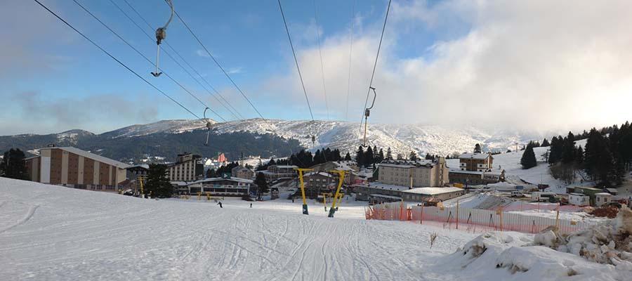 Uludağ Kayak Merkezi - Kayak Pistleri