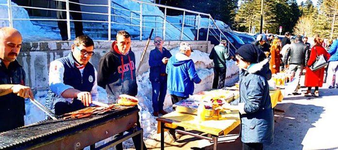 Uludağ Kayak Merkezi - Sucuk Ekmek