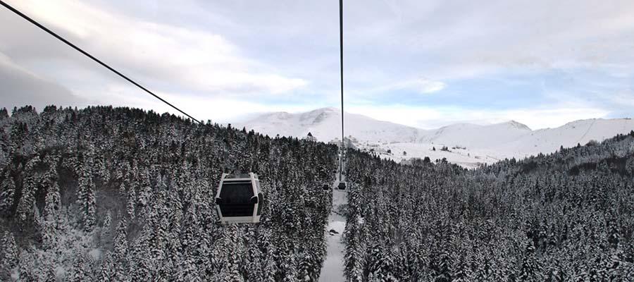 Uludağ Kayak Merkezi - Teleferik