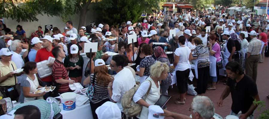 Uluslararası Bozcaada Lezzet Festivali - Kalamar - Uluslararası
