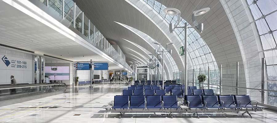 Dünyanın En Büyük Havaalanları - Dubai - İç Görünüm