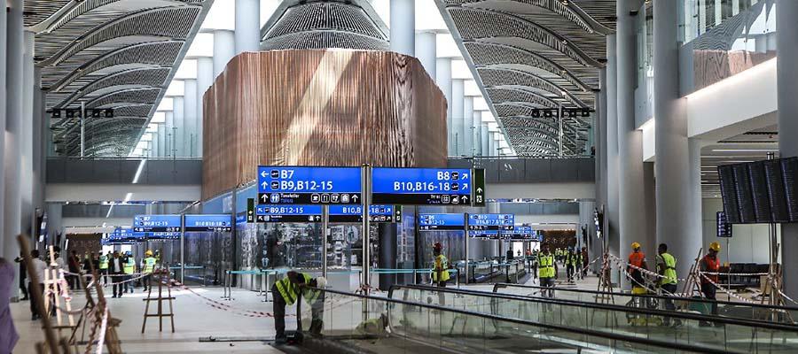 Dünyanın En Büyük Havaalanları - Genel