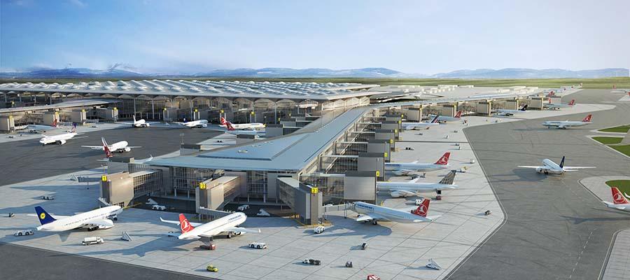 Dünyanın En Büyük Havaalanları - İstanbul - Genel