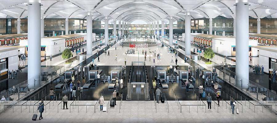 Dünyanın En Büyük Havaalanları - İstanbul - İç Görünüm